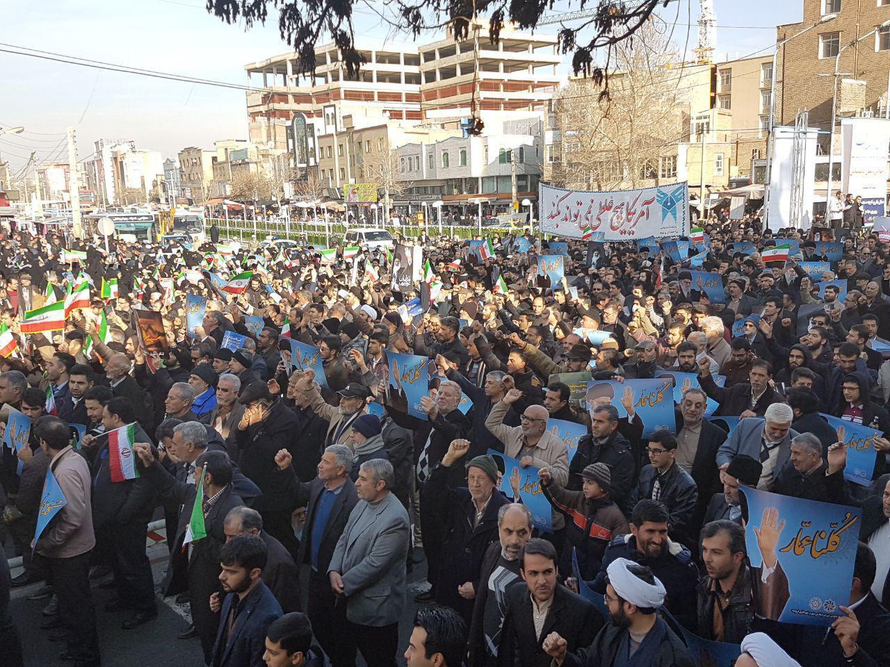 لحظهبهلحظه با قیام سراسری مردم/ ایرانیها آشوبگران آمریکایی-سعودی را به زبالهدان تاریخ فرستادند