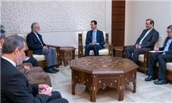 امیدواری بشار اسد به پیروزی نهایی در مبارزه با تروریست ها/ قدردانی از حمایت های ایران