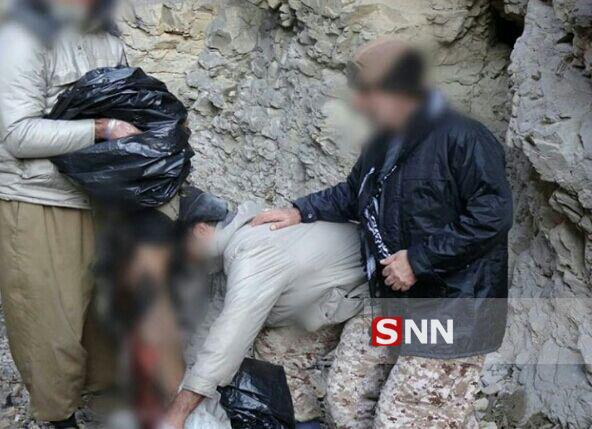 تصاویر به درک واصل شدن تروریست های داعش در غرب کشور