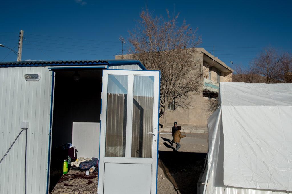 کوهبنان بعد از چهل روز از زلزله به چه شکل است؟+ تصاویر