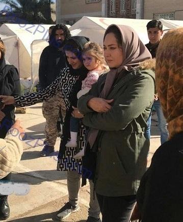 خانم بازیگر با پول های اهدایی برای زلزله زده ها چه کرد؟ + عکس