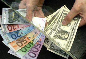 کاهش نرخ مبادلاتي دلار و يورو