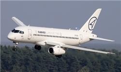 هواپیمای سوخو سوپرجت روسی فردا وارد تهران می شود