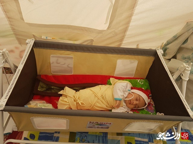 /بماند/ سیستمهای گرمایشی استاندارد نیاز زلزلهزدگان کوهبنان/ شرایط سخت زندگی نوزادان و سالخوردگان در چادرها