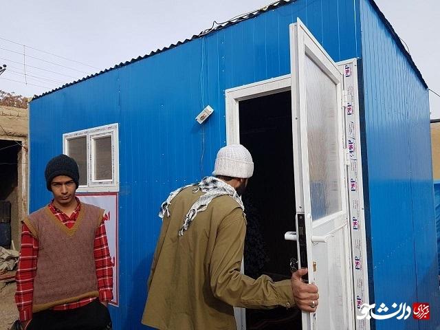 /آماده/ شرایط سخت زندگی نوزادان و سالخوردگان در چادرها/ سیستمهای گرمایشی استاندارد نیاز زلزلهزدگان کوهبنان