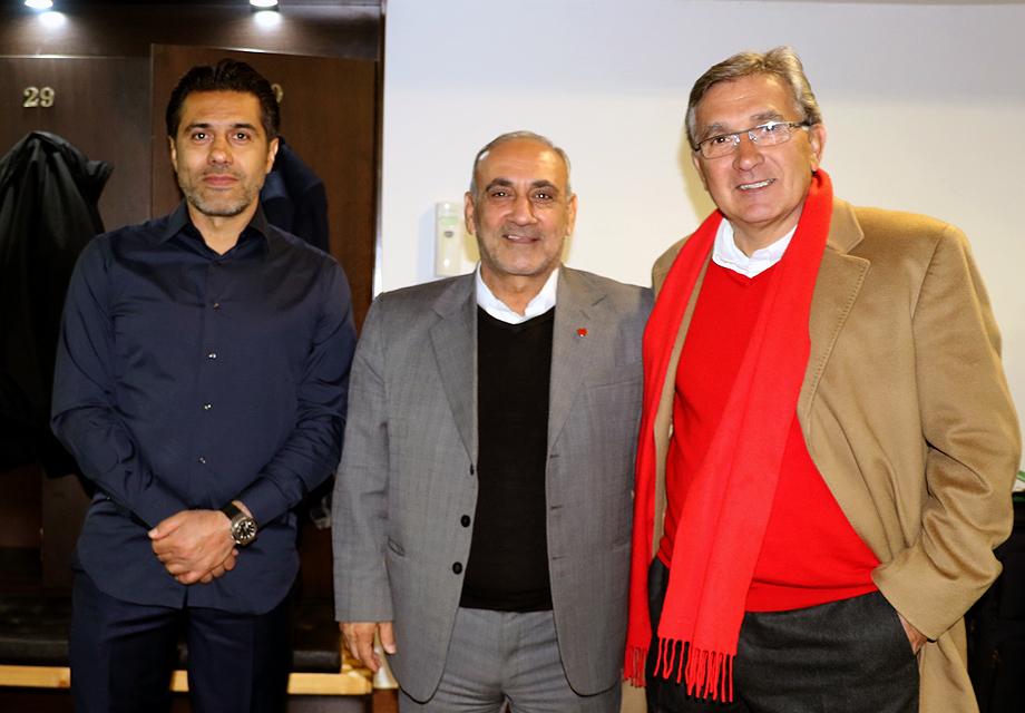 قدردانی سرپرست باشگاه پرسپولیس از تیم، هواداران و عوامل برگزاری مسابقه
