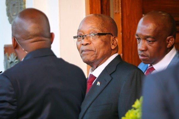 «جاکوب زوما» از ریاست جمهوری آفریقای جنوبی استعفا داد