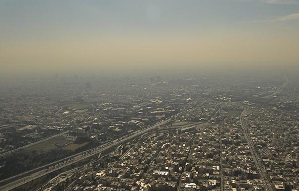 هوای پایتخت برای گروه های حساس ناسالم است