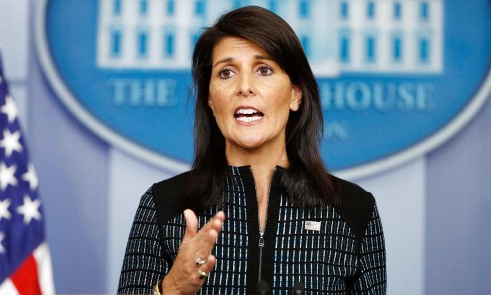 نیکی هیلی: زمان آن است که شورای امنیت علیه ایران اقدام کند!