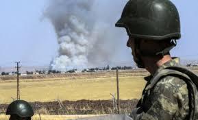 حمله شیمیایی ترکیه به «عفرین» ۶ غیرنظامی را مجروح کرد