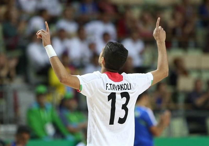 گل توکلی به ژاپن برترین گل مسابقات فوتسال قهرمانی آسیا شد