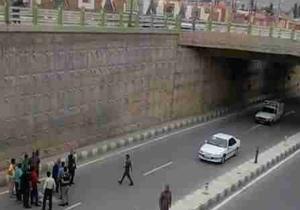 خودکشی دختر ۲۲ ساله در خیابان آزادی