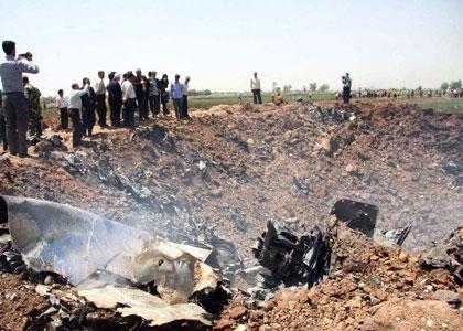 اعزام تیم های تشخیص هویت پلیس آگاهی به محل سقوط هواپیما