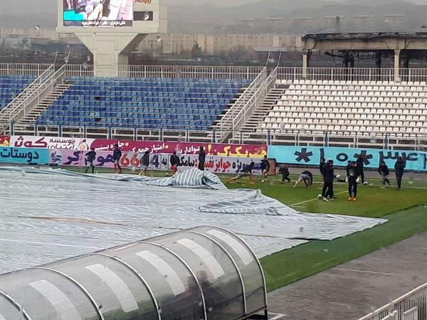 اتفاقات عجیب و جنجالی دربی تبریز را لغو کرد+عکس
