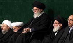 دومین شب مراسم عزاداری شهادت حضرت فاطمه(س) با حضور رهبر معظم انقلاب  برگزار شد