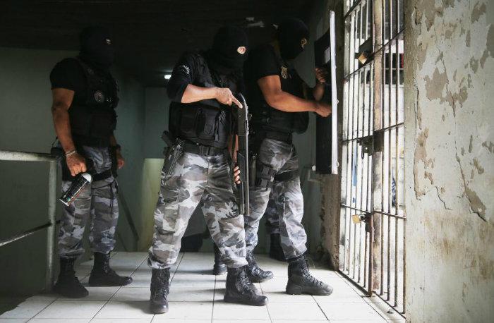 گروگانگیری در زندان  ریودو ژانیرو برزیل