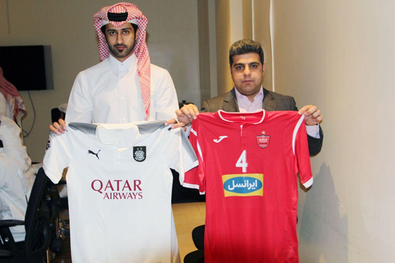 پیراهن دو تیم پرسپولیس و السد قطر برای دیدار فردا در لیگ قهرمانان آسیا+عکس