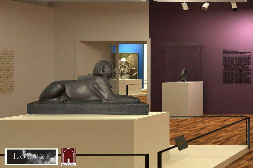 نمایشگاه لوور در موزه ملی ایران افتتاح می شود