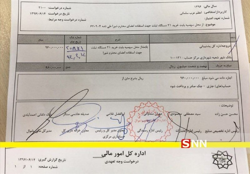 از افتضاح مراسم برج میلاد تا خرید میلیاردی اعضای شورا و گرانی 25 درصدی مترو تهران!