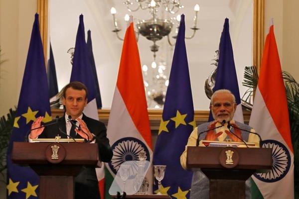 فرانسه روابط دفاعی و امنیتی خود با هند را گسترش می دهد