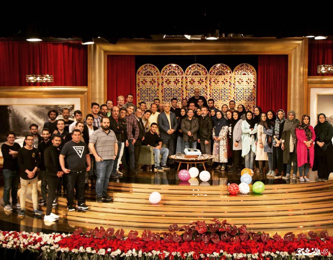 سوپرایز بازیگر دورهمی توسط مهران مدیری + عکس