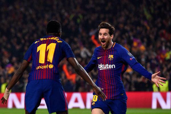 بارسلونا با اقتدار از سد چلسی گذشت/ صعود با درخشش لیونل مسی