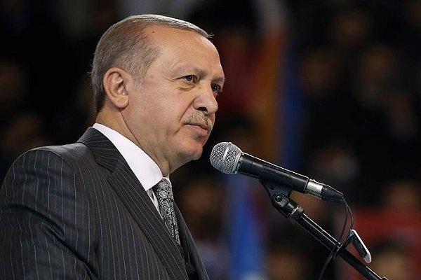 اردوغان: اجازه دخالت در امور داخلی کشورمان را نمی دهیم