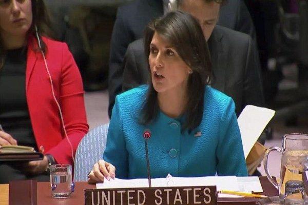 هیلی: دمشق باحمایت مسکو هزاران نفر را در غوطه شرقی بمباران می کند!