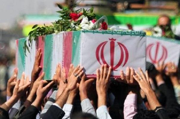 پیکر ۲۵ شهید گمنام در بندرعباس تشییع شدند