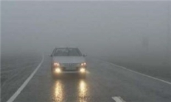 بارش باران در ۶ استان کشور/ ترافیک در آزادراه کرج-قزوین و تهران-کرج