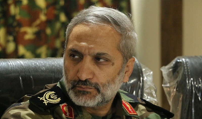 عیادت سردار یزدی از مجروح حادثه تروریستی خیابان پاسداران