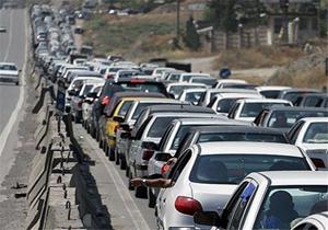 بارش برف و باران در ۷ استان کشور/ در آزادراه کرج-تهران ترافیک سنگین است