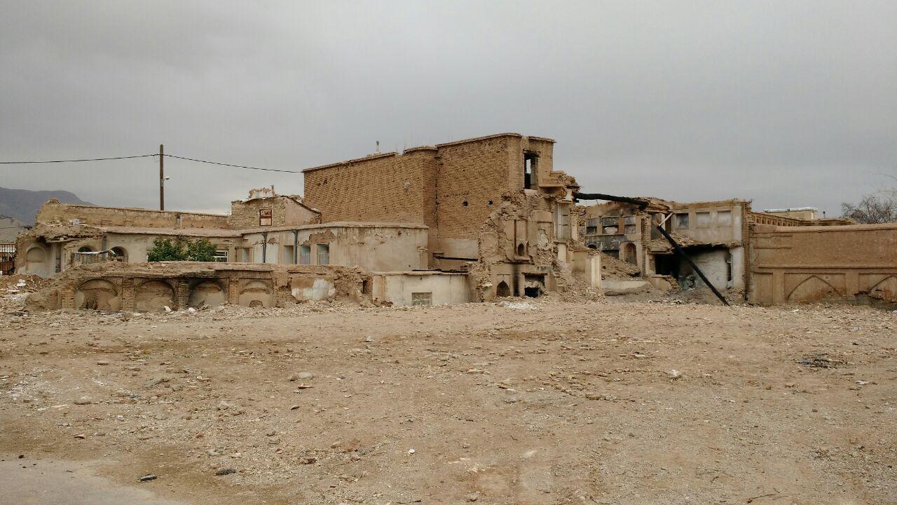 ۲ خانه تاریخی در شیراز با خاک یکسان شد