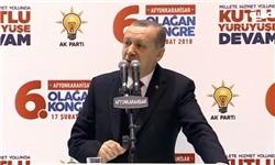 اردوغان دولت سوریه را به استفاده از سلاح شیمیایی متهم کرد