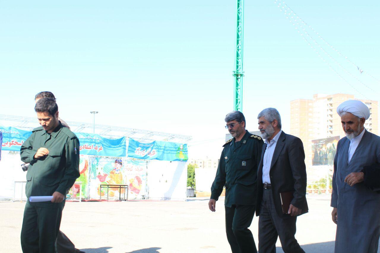 گروه جهادی بسیج دانشجویی دانشگاه امام حسین(ع) راهی مناطق محروم کرمانشاه شد