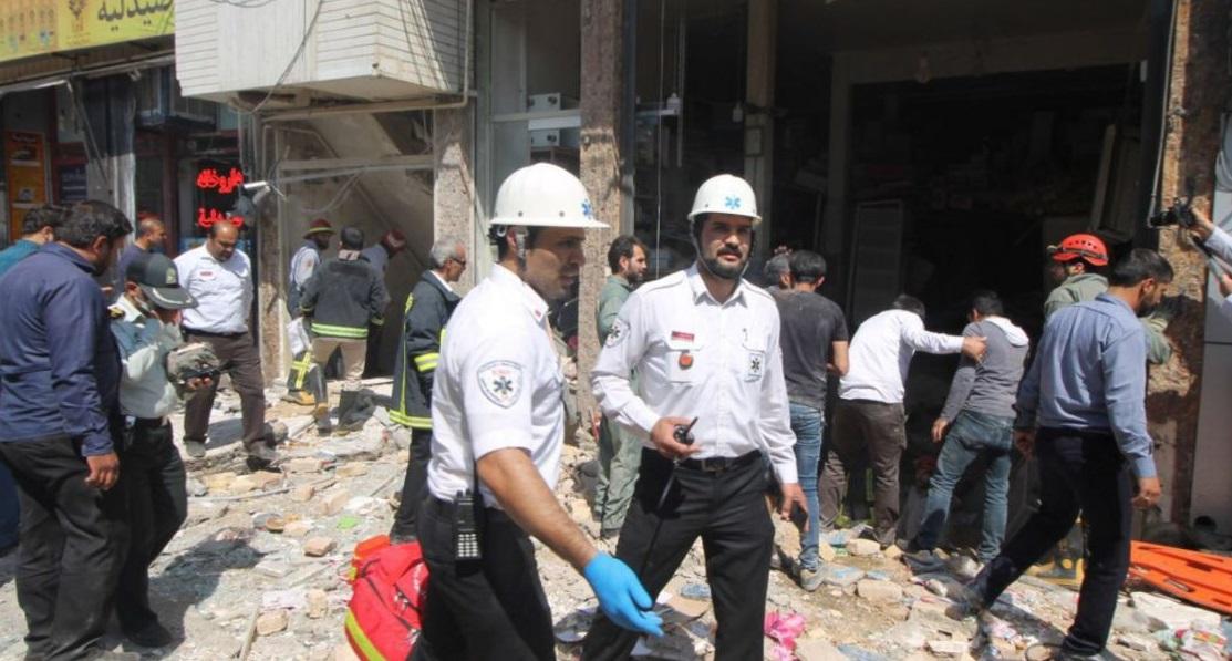 انفجار یک مسافرخانه در نزدیکی حرم حضرت معصومه