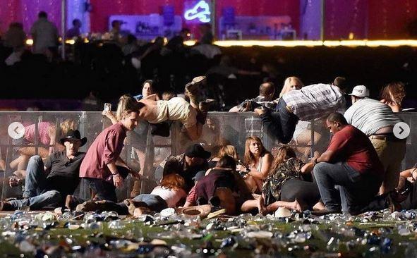 نتیجه تصویری برای افزایش تلفات حمله مسلحانه لاس وگاس
