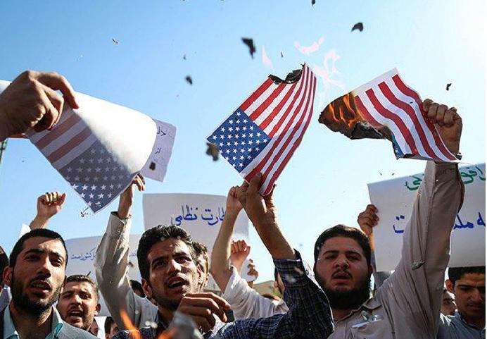 فریاد اتحاد دانشجویان بجنوردی علیه سیاستهای خصمانه آمریکا