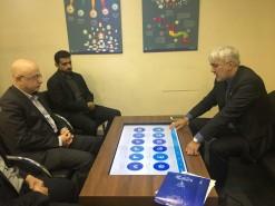 بازدید معاون هنری وزیر ارشاد از نمایشگاه دیجیتال
