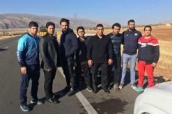 یاری مردم زلزله زده توسط کشتیگیران تیمهای ملی آزاد