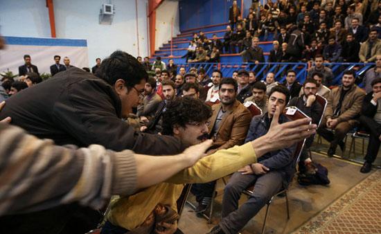 روایت یک روز دانشجوی برفی-خاکی/ روحانی،خشایار،آقا زرده و دیگران!