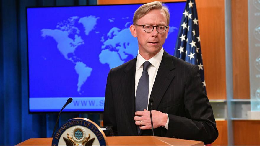 525889 530 - برایان هوک: محدودیت سفر ایرانیان به آمریکا لغو نمیشود