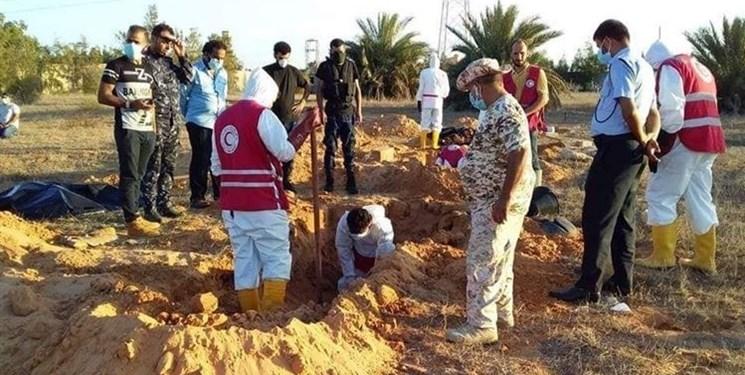 526207 907 - کشف گور جمعی عناصر داعش در لیبی
