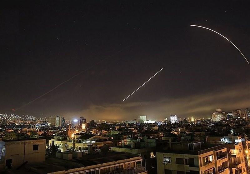 526220 329 - سانا: پدافند هوایی سوریه ۸ هدف متخاصم در آسمان دمشق را سرنگون کرد