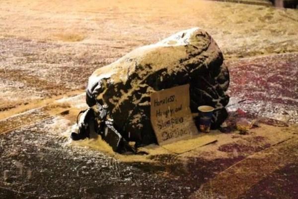 تلف شدن ۱۸ بیخانمان آمریکایی در سرمای زیر ۶۰ درجه سانتیگراد/ تصاویر