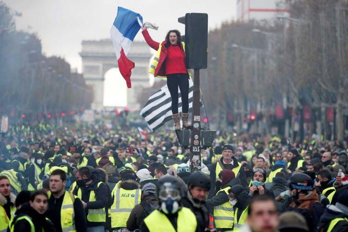 جنبش ضدسرمایهداری از آمریکا تا فرانسه