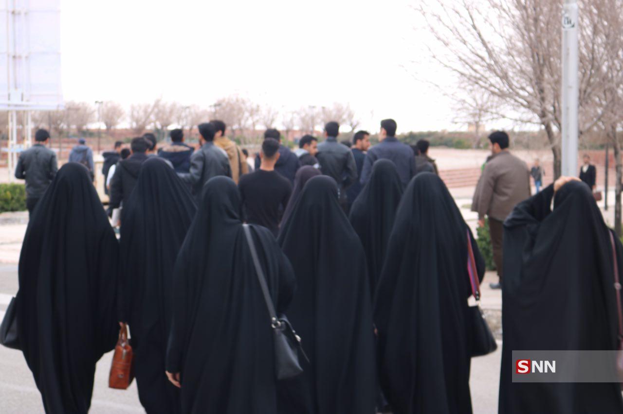 اعتراض به بیحرمتی به قرآن و خانواده شهدا/اجازه نمیدهیم دانشگاه جولانگاه تفکر فتنه گران شود