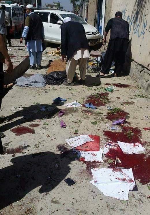 افزایش تعداد شهدای حمله کابل به ۴۰ نفر/ طالبان مسئولیت حمله را نپذیرفت