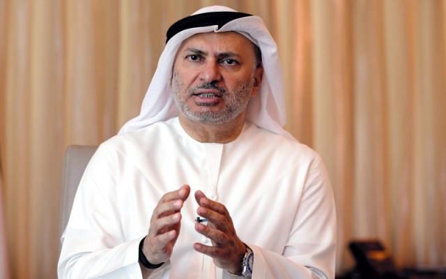 قرقاش: تماس تلفنی امیر قطر و حسن روحانی چیز عجیبی نیست