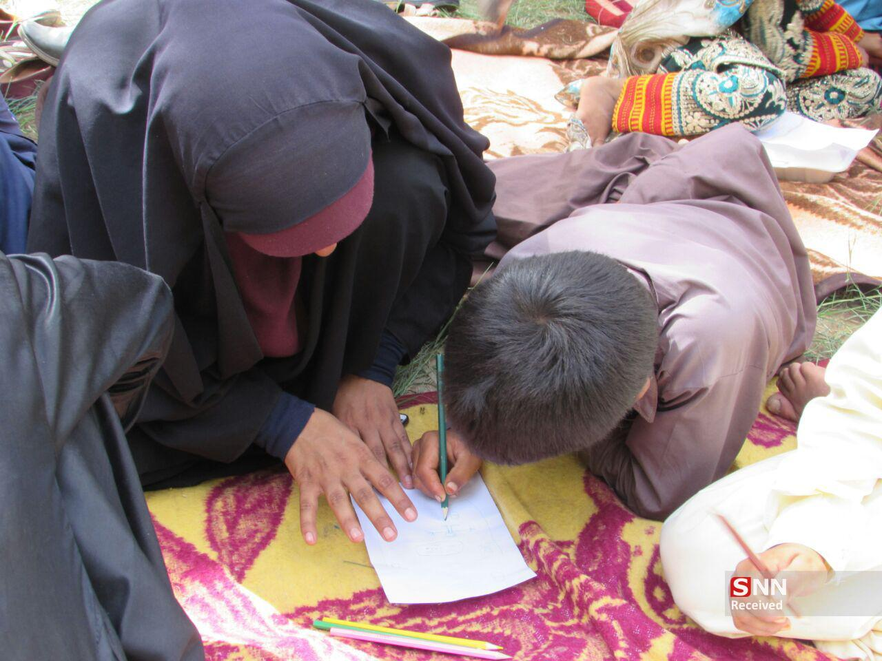 /بماند/آرزوی کودکان ایرانشهری که به همت دانشجویان جهادگر برآورده شد/  قول دانشجویان به کودکان تا پایان سال ۱۴۱۲